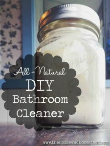 All-Natural DIY Bathroom Cleaner