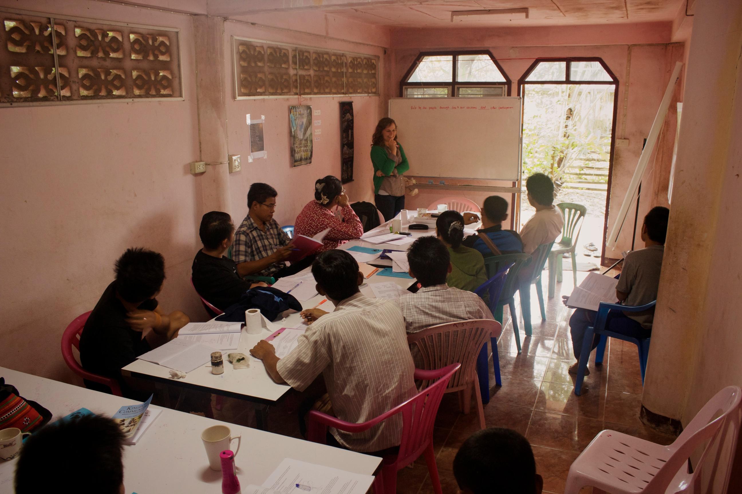 Social Development training.