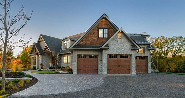 New Home Product Ideas by The House Designers on Garage Door Colors  id=54888