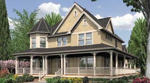 Victorian House Plans  Old Historic   Small Style Home Floorplans Victorian House Plans