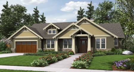 Ranch House Plans Easy to Customize from TheHouseDesigners com Ranch House Plans