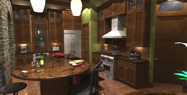 House Plans With Large Kitchens The House Designers