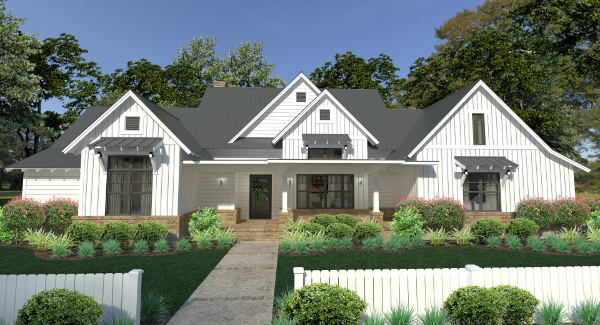 Farmhouse Plans Amp Country Ranch Style Home Designs By THD