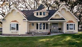 Victorian House Plans  Old Historic   Small Style Home Floorplans image of JASPER House Plan