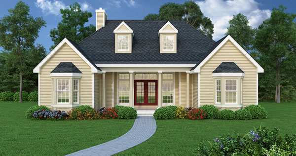 Popular Floor Most Style House Ranch Plans