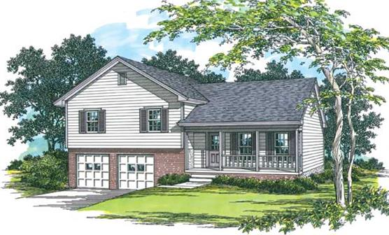 Split Level Traditional 1523 3 Bedrooms And 25 Baths