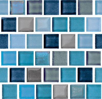 Tiles we choose for the water line of the pool.