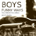 You know you are a mom of boys when…
