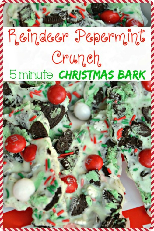 Addictively delciious! This transforms Peppermint Bark into a the ultimate holiday indulgence. Only takes 5 minutes and is going to be my neighbor and teacher gift. The cookies and cream takes it to a new level! Also perfect to take to a Christmas party. | the House of Hendrix