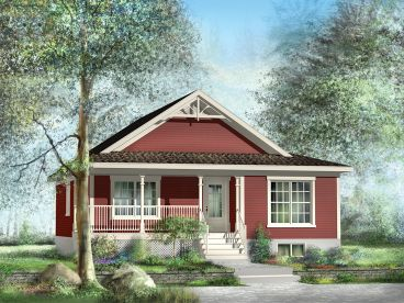Cottage House Plans   The House Plan Shop Cottage House Plans