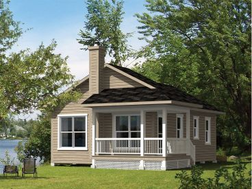 Country House Plans   The House Plan Shop Country Cottage House Plan  072H 0189