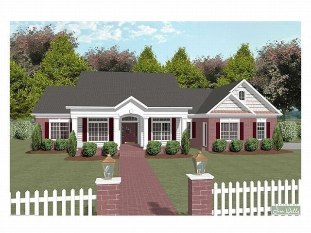Plan 007H 0065   Find Unique House Plans  Home Plans and Floor Plans     One Story House Plan  007H 0065