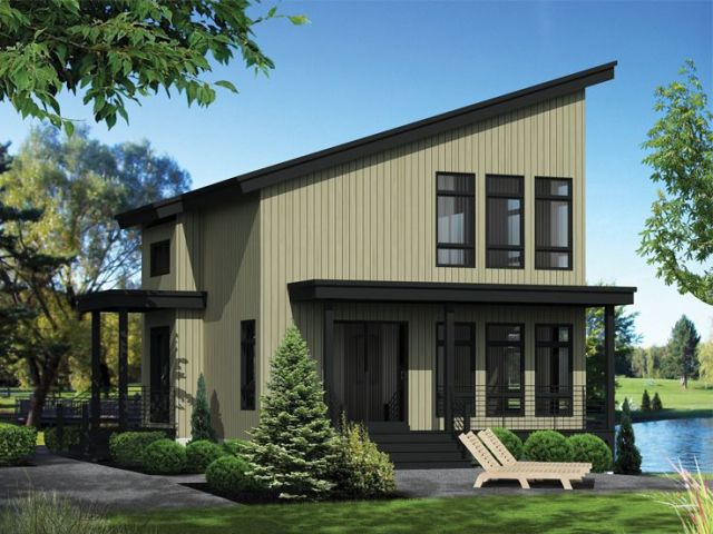 Plan 072H 0211   Find Unique House Plans  Home Plans and Floor Plans     Modern Vacation Home  Right  072H 0211