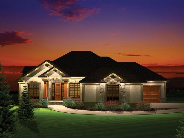 Plan 020H 0287   Find Unique House Plans  Home Plans and Floor Plans     Sloping Lot House Plan  020H 0287