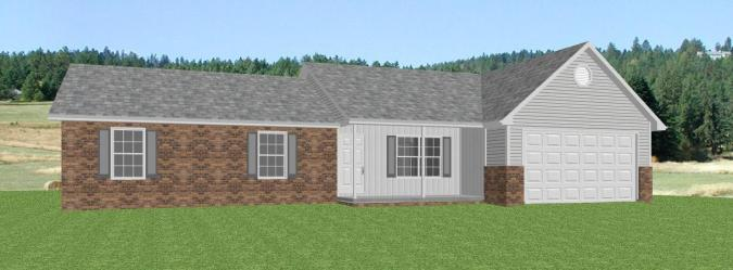 single level house plans  house plans with single level   The House     ranch home plan