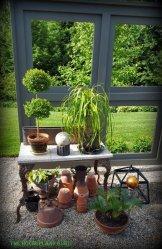 "A ""windowsill"" full of plants"
