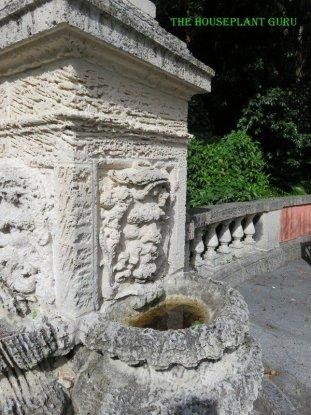 Face on a fountain