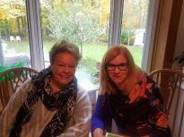 Nancy Szerlag and I