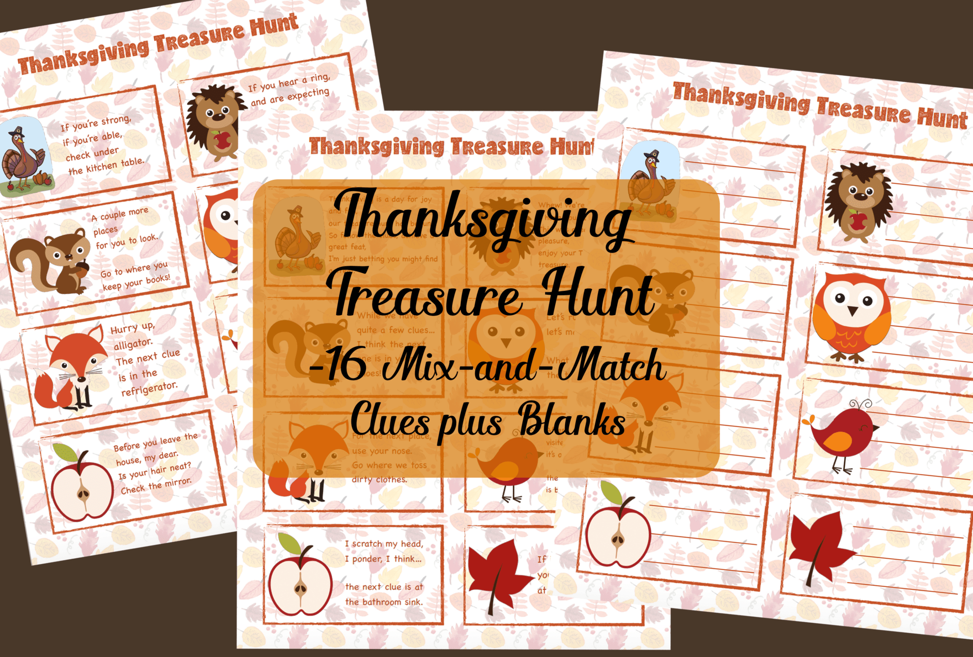 Happy Thanksgiving Free Printable I Am Thankful For