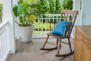 Wood Floors from Rocking Chairs