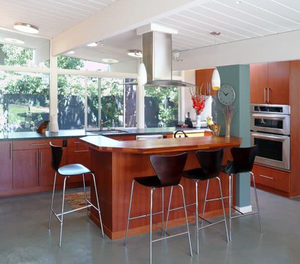 MCM kitchen island