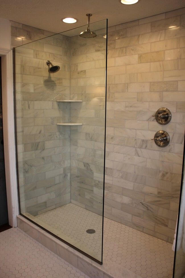 Small Walk-in Shower