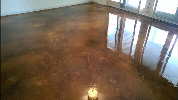 Epoxy Sealed Concrete Flooring