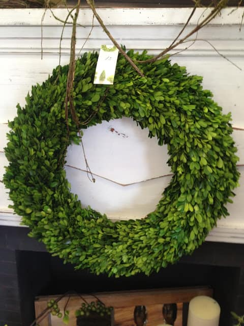 Boxwood wreath inspiration