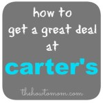 How to get a great deal at Carter's
