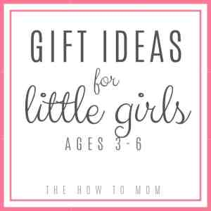 Christmas gift ideas for little girls (ages 3-6)