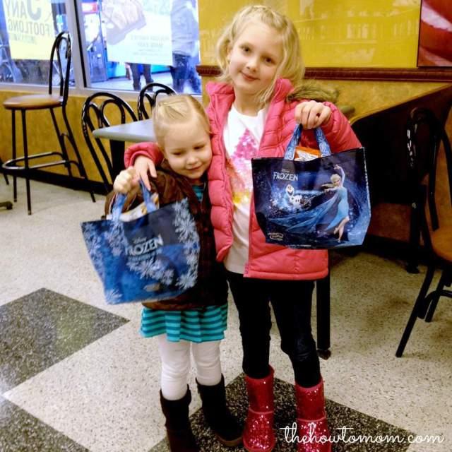 Disney FROZEN the movie Subway Fresh Fit Kids Meals #shop #frozenfun #cbias