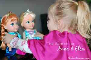 The Search for Elsa and Anna from FROZEN