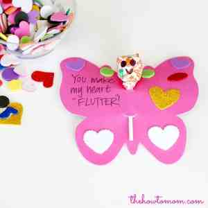 Easy and girly Valentine – sweet and simple!
