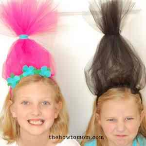 Easy Trolls Headband DIY