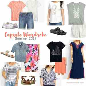 Summer 2017 Capsule Wardrobe