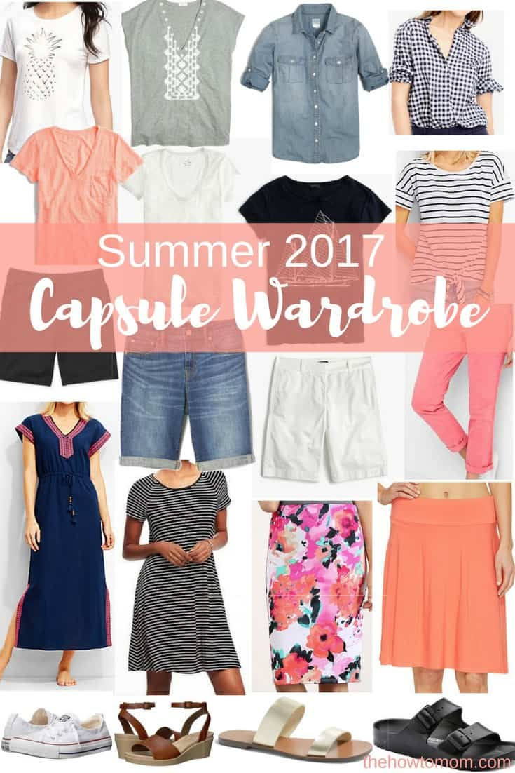 Summer Capsule Wardrobe for Modest Young Moms