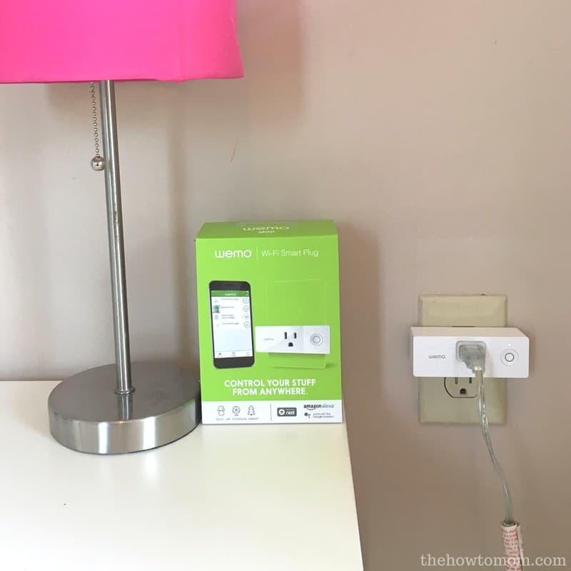 Back to School with BabbleBoxx - Wemo Smart Plug