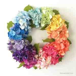 How to Make a Hydrangea Wreath – Easy!