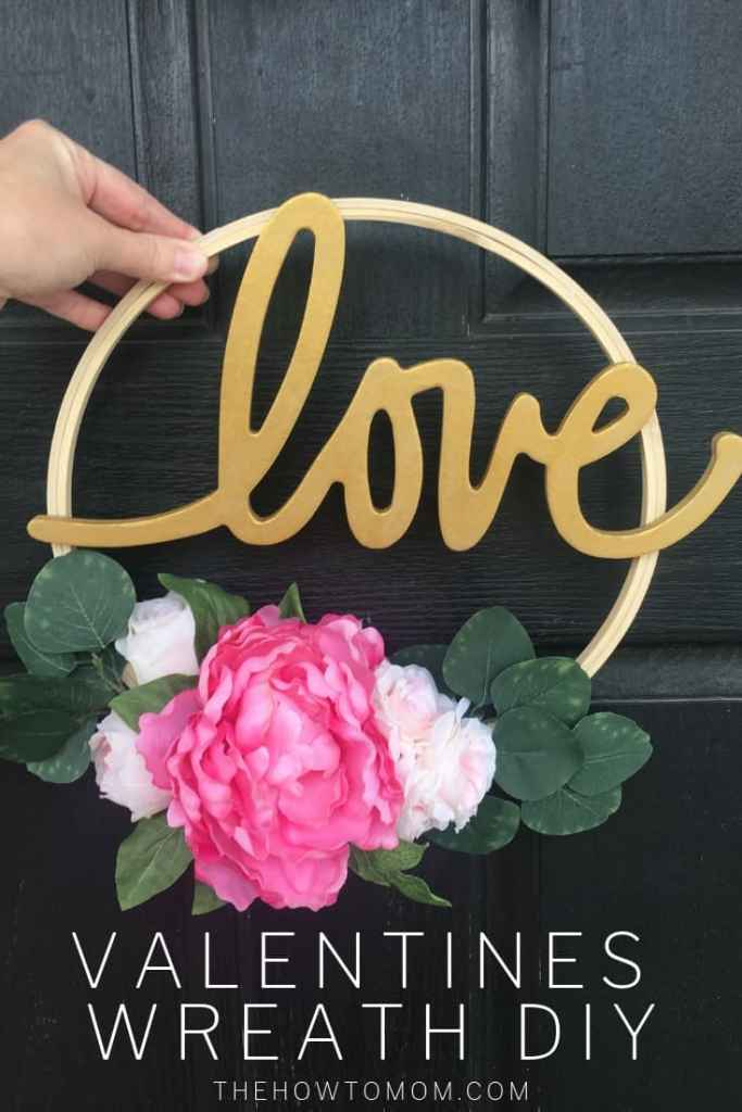 Valentines Day Wreath DIY
