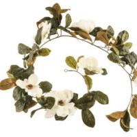 Cream Magnolia Garland