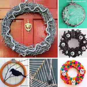 Spooky and Fun DIY Wreaths for Halloween