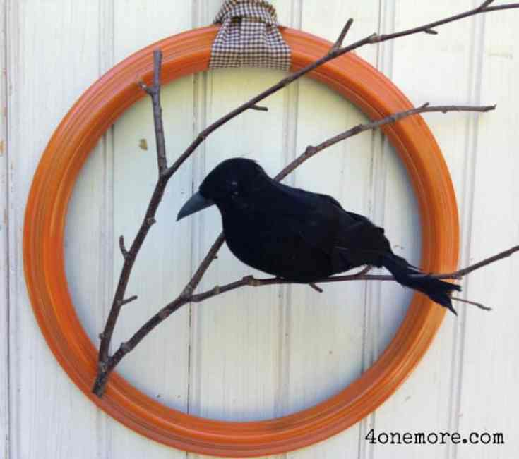 Raven Wreath Tutorial