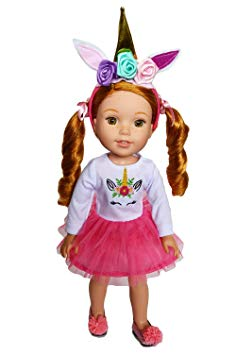 WellieWisher Unicorn Outfit