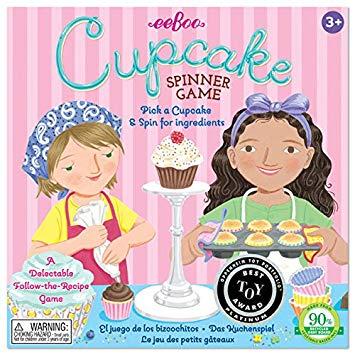 Cupcake Spinner Board Game