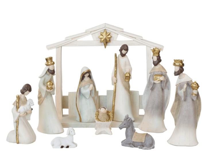 Neutral Nativity set - 10 pc