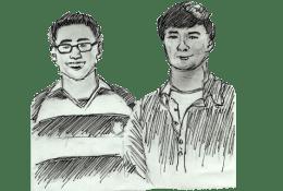 Alex Honjiyo & Pat Gavin