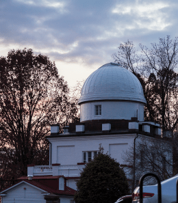 ALEXANDER BROWN/THE HOYA Recent repairs to the exterior dome have made Heyden Observatory functional once more.
