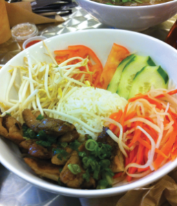 Caitlin Desantis for the Hoya GETTING FRESH | Sprig and Sprout offers delectable fare for those craving a healthier alternative to their favorite Asian dishes.