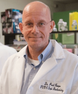 COURTESY GEORGETOWN UNIVERSITY Paul Roepe, a Georgetown professor of chemistry, has been awarded a $4.75 million five-year grant to conduct cutting-edge malaria research.