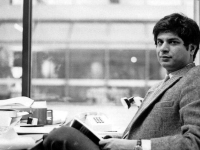 COURTESY AMIT SHAH  Economics professor Adhip Chaudhuri in his Intercultural Center office in the early 1980s. Chaudhuri, who taught at Georgetown for 34 years, died at 62 after a three-year battle with cancer Jan. 13.